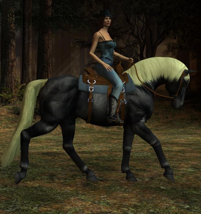 Silver stallion and vivienne burnham in titty ear muffs - 5 4